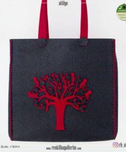 Keçe Kol Çantası - CK014 , hediye , kol çantası