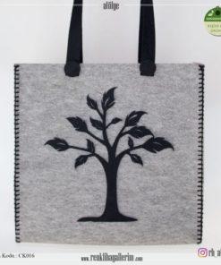 Keçe Kol Çantası - CK016 , hediye , kol çantası
