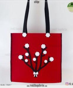 Keçe Kol Çantası - CK017 , hediye , kol çantası