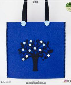 Keçe Kol Çantası - CK018 , hediye , kol çantası