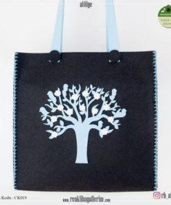 Keçe Kol Çantası - CK019 , hediye , kol çantası