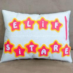 Elif Sitare Yıldızlı Takı Yastığı