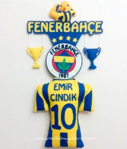 Emir Cındık isimli Fenerbahçe Bebek Kapı Süsü