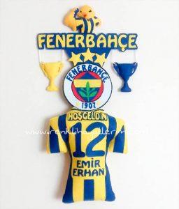 Emir Erhan Fenerbahçe Bebek Kapı Süsü