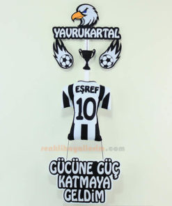 Eşref isimli Beşiktaş Yavru Kartal Kapı Süs