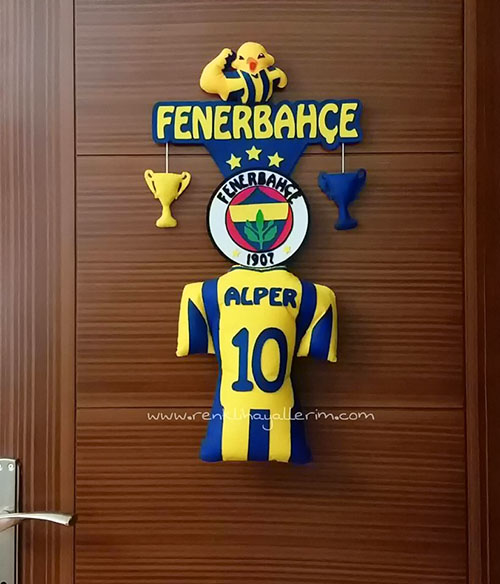 Alper yazılı Fenerbahçe Kapı Süsü