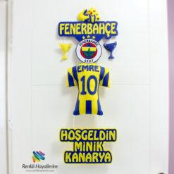 Hoşgeldin Minik Kanarya Fenerbahçe Kapı Süsü