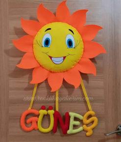 Güneş Bebek Kapı Süsü - Güneş isimli bebek kapı süsü modelleri