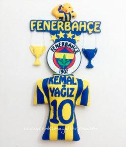Kemal Yağız isimli Fenerbahçe Bebek Kapı Süsü