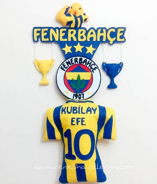 Kubilay Efe isimli Fenerbahçe Bebek Kapı Süsü