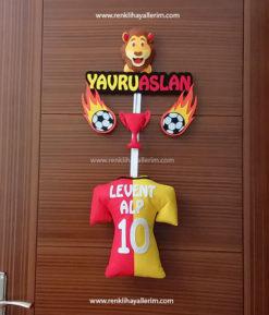 Levent Alp isimli Galatasaray Bebek Kapı Süsü