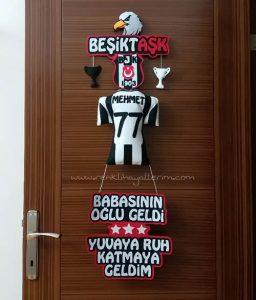 Mehmet Beşiktaşk Bebek Kapı Süsü
