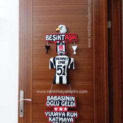 Mehmet Emir isimli Beşiktaş Beşiktaşk Kapı Süsü