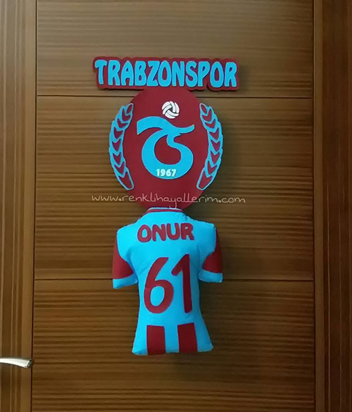Onur Trabzonspor Kapı Süsü