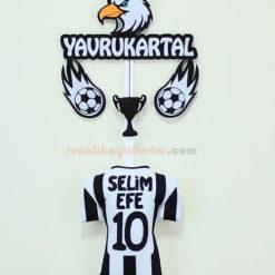 Selim Efe isimli Beşiktaş Yavru Kartal Kapı Süs