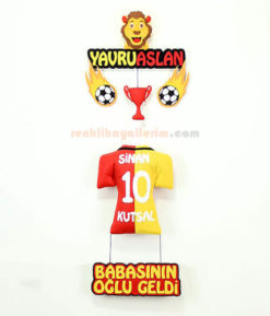 Sinan isimli Yavru Aslan Galatasaray Gs Kapı Süsü