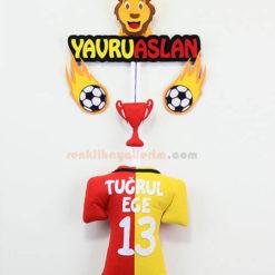 Tuğrul ege isimli Galatasaray Yavru Aslan Kapı Süsü