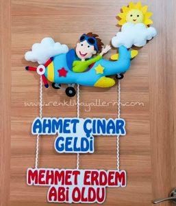 Kardeş Kapı Süsü Uçak Ahmet Çınar Mehmet Erdem