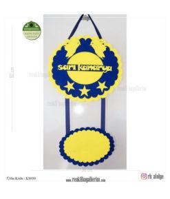 Sarı Kanarya Kapı Süsü - Fenerbahçe