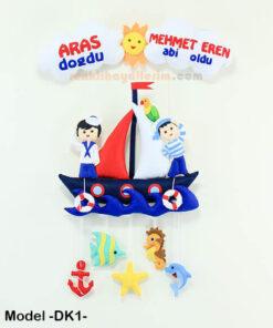 Aras Doğdu Mehmet Eren Abi Oldu Denizci Kardeş