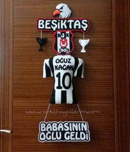 Oğuz Kağan Beşiktaş Kapı Süsü