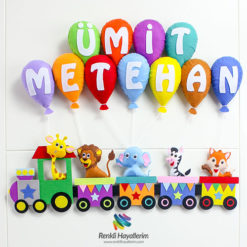 Trenli Bebek Kapı Süsü - Ümit Metehan