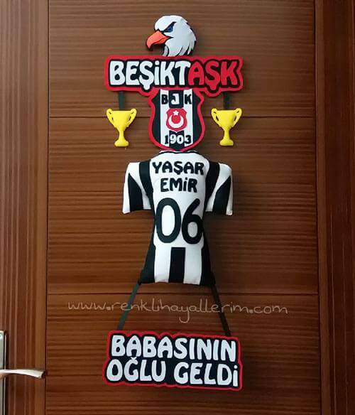 Yaşar Emir Beşiktaş Bebek Kapı Süsü