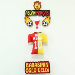 Aslan Parçası Galatasaray Kapı Süsü