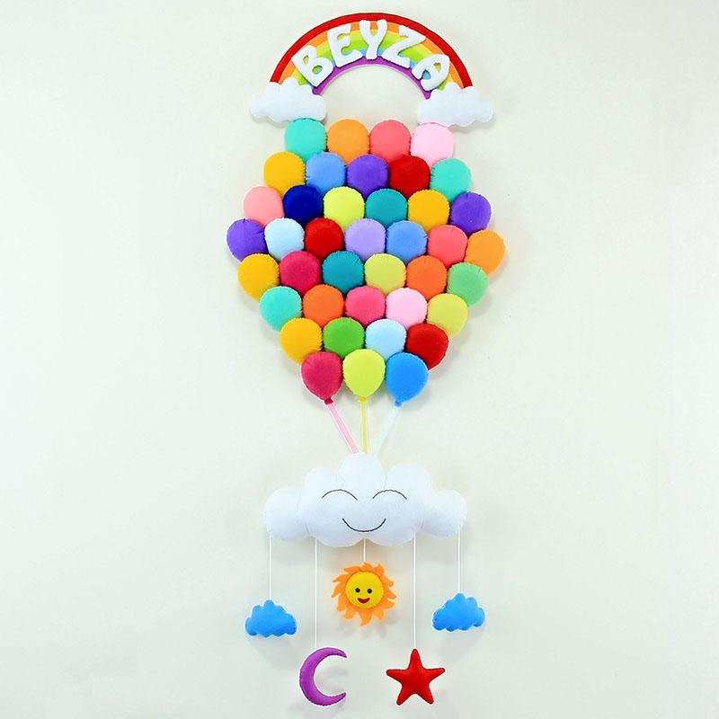Balonlar Kapı Süsü