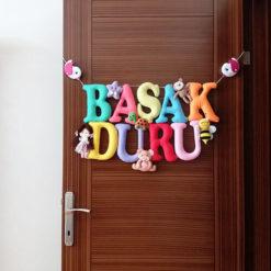 Başak Duru isimli Bebek Kapı Süsü - Kız Bebek