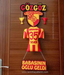 Göz Göz Kapı Süsü - Göztepe 35 İbrahim