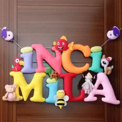 İnci Mila isimli Bebek Kapı Süsü