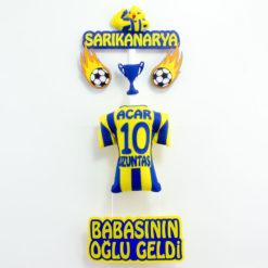 Sarı Kanarya Fenerbahçe Kapı Süsü