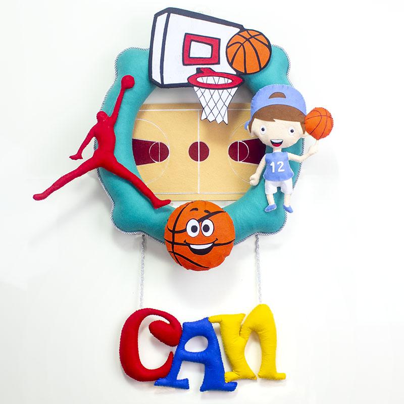 Can Basketbolcu Bebek Odası Kapı Süsü
