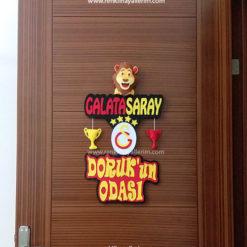 Doruk'un odası galatasaray kapı süsü