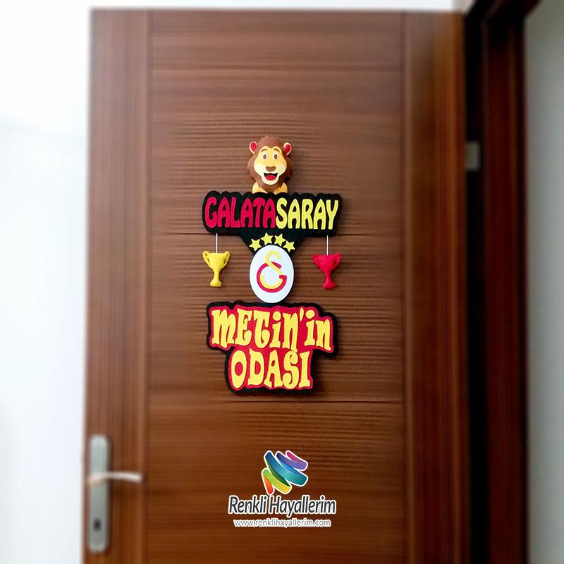 Metin isimli Galatasaray Oda Kapı Süsü