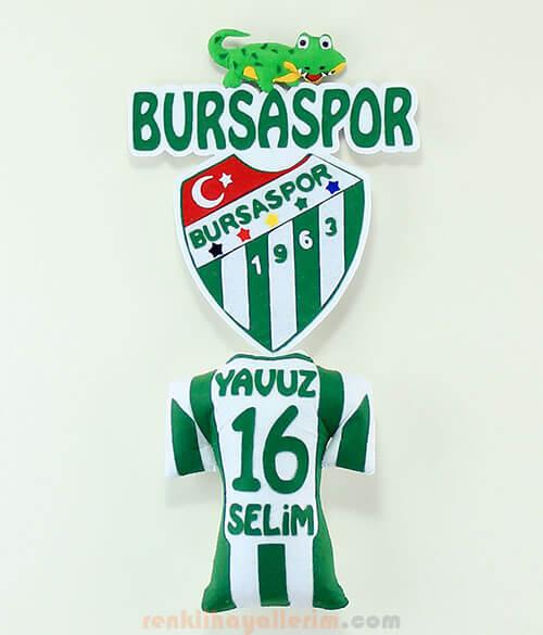 Bursaspor Kapı Süsü - Bursa - Timsah Yavuz Selim 16