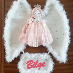 Akasya melek kız bebek kapı süsü 1