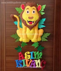 Aslan Kral Kapı Süsü Asım Kıvanç isimli