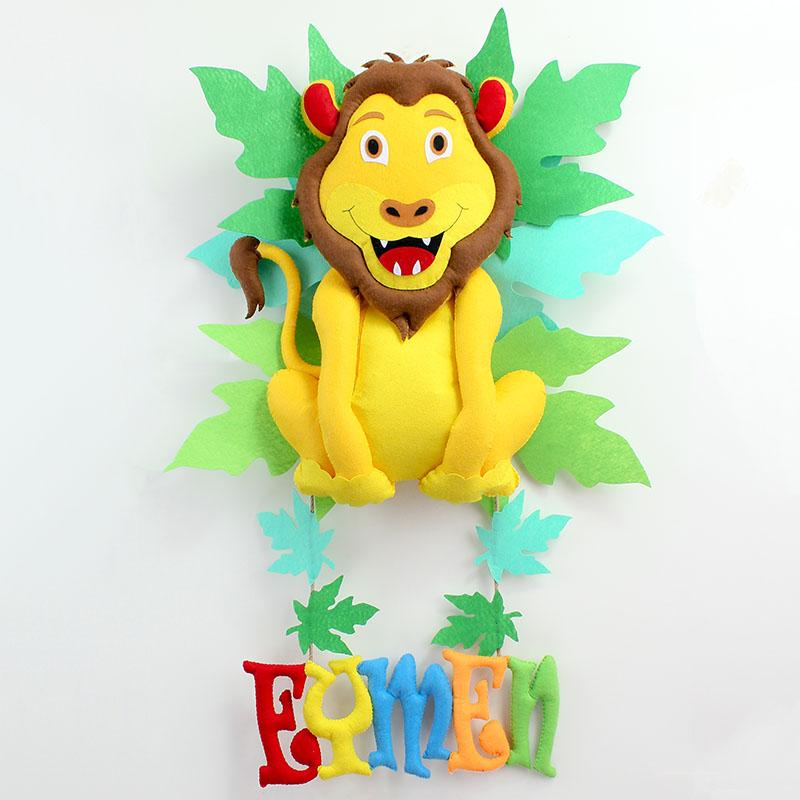 Aslan Kral Kapı Süsü