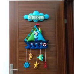 Rizespor Denizci Kapı Süsü Demirhan isimli