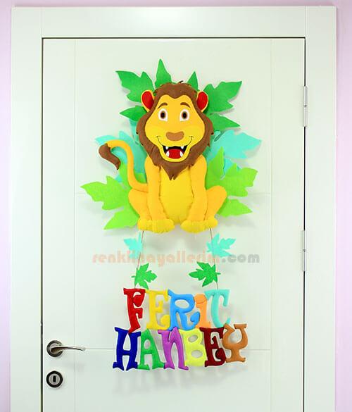 Ferit Hanbey isimli Aslan Kral Kapı Süsü Kapı