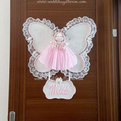 Frezya melek kız bebek kapı süsü 1