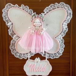 Frezya melek kız bebek kapı süsü 2