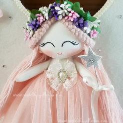 Gardenya melek kız bebek kapı süsü 4