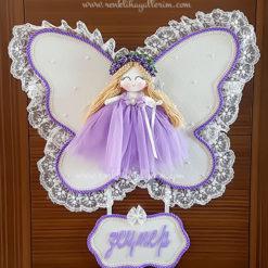 Leylak melek kız bebek kapı süsü 2
