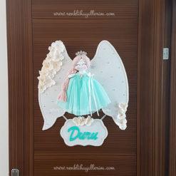 Papatya melek kız bebek kapı süsü 1