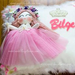 Sardunya melek kız bebek takı ve süs yastığı 4