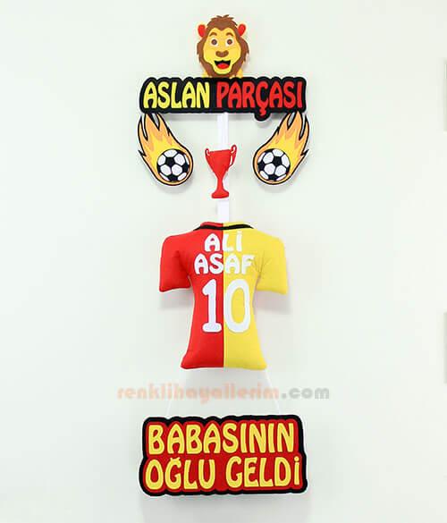 Ali Asaf isimli Aslan Parçası Galatasaray Kapı Süsü