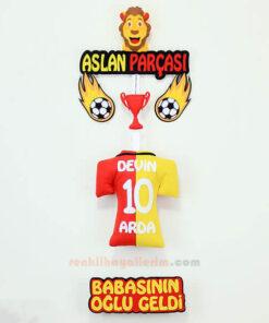 Devin Arda isimli Aslan Parçası Galatasaray Kapı Süsü